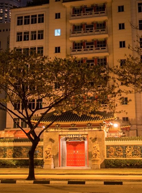 Singapore at night 3 Chinese Association