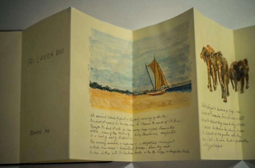 Travel diaries Edward Ho 1