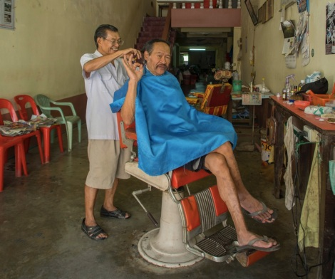 Takua Pa Old Town 13 Hairdresser