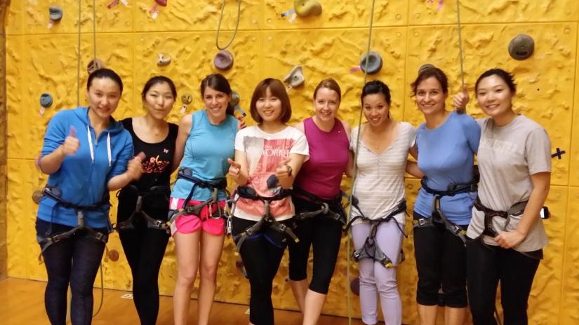 YMCA Indoor Rock Climbing Wall 2