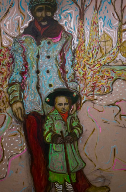 Billy Childish at Lehmann Maupin 3