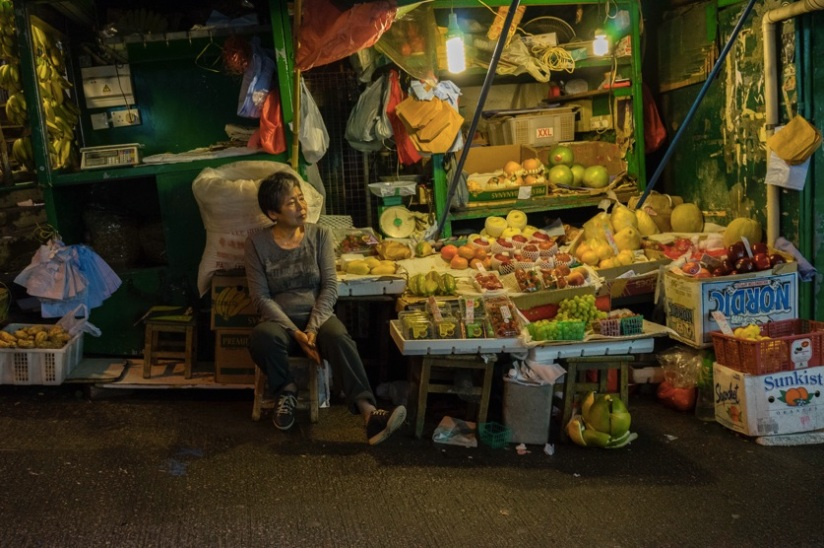 Hong Kong Central 2 Wet Market
