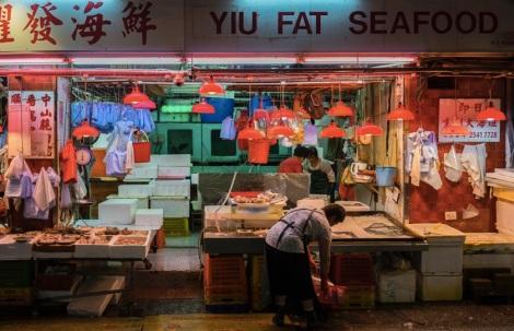 Hong Kong Central 3 Wet Market