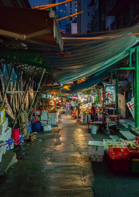 Hong Kong Central 4 Wet Market