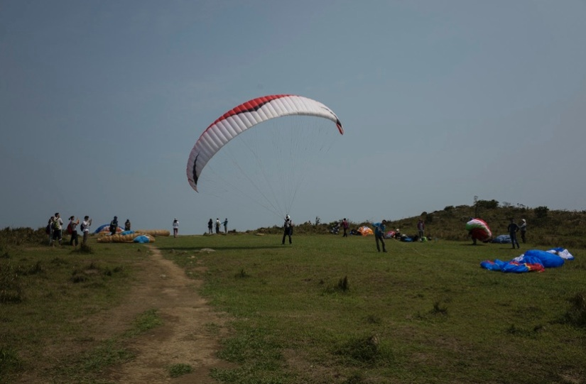 MacLehose Trail 4-6 Paraglider