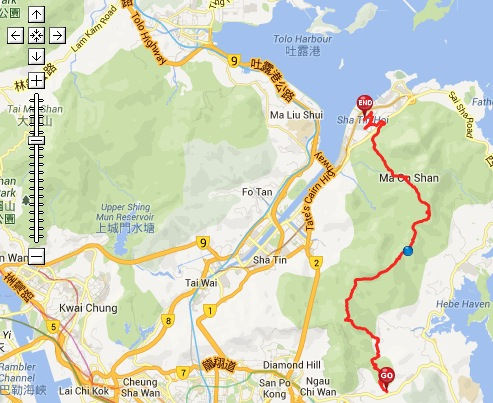 Wilson Trail and MacLehose Trail 4