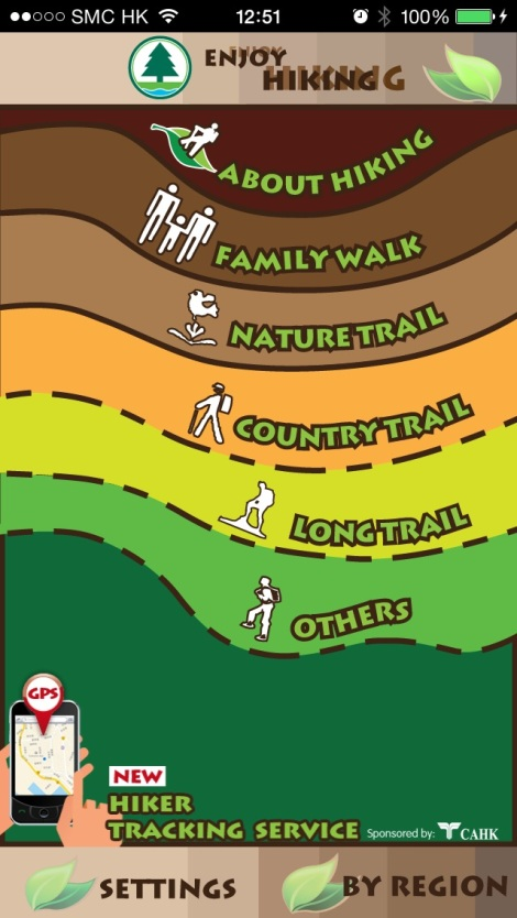 Enjoy Hiking App