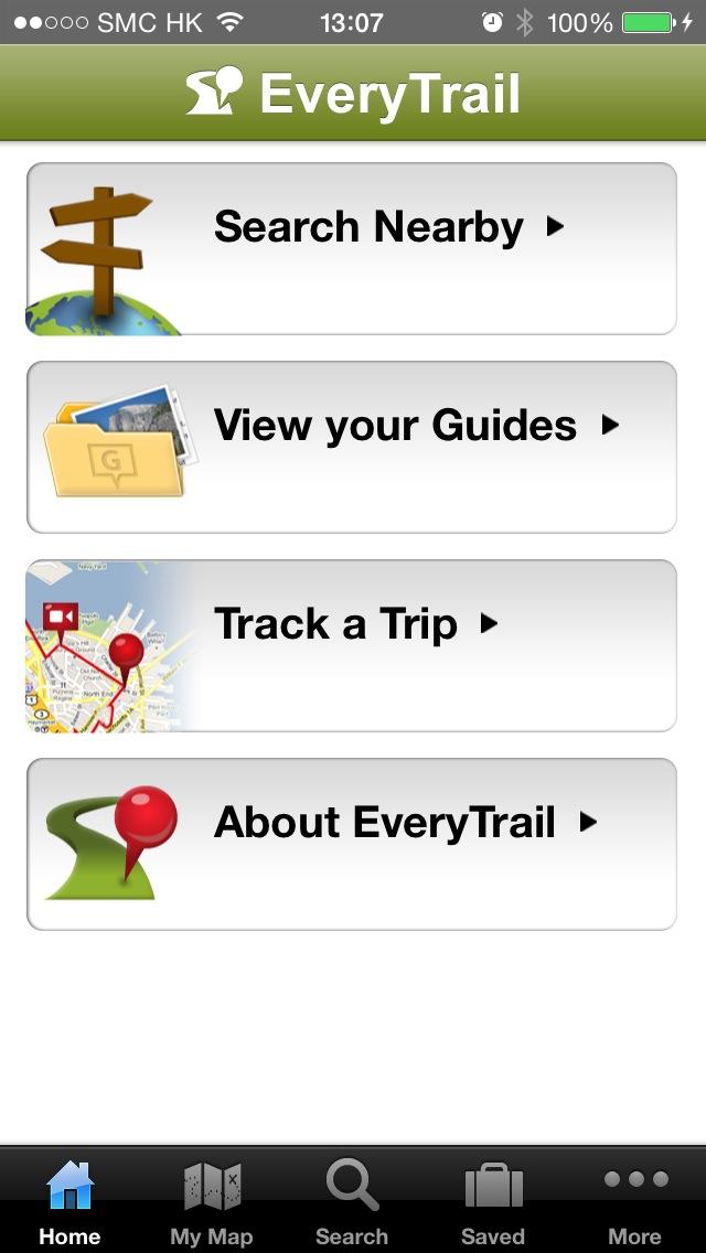 EveryTrail App