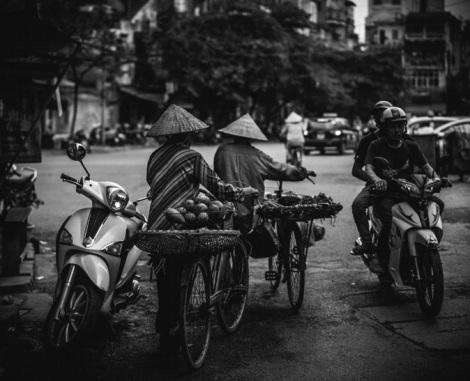 Hanoi B&W 1