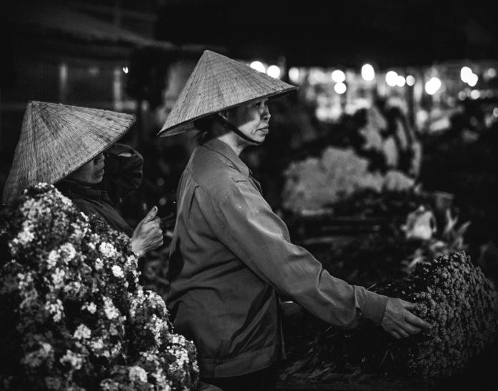 Hanoi B&W 2