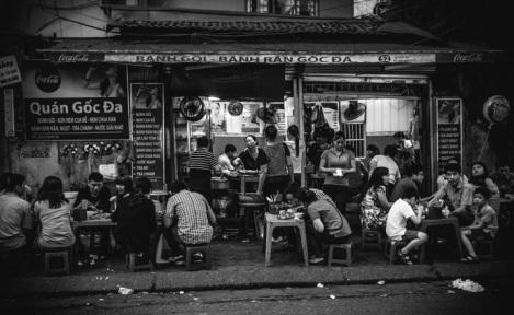 Hanoi B&W 5