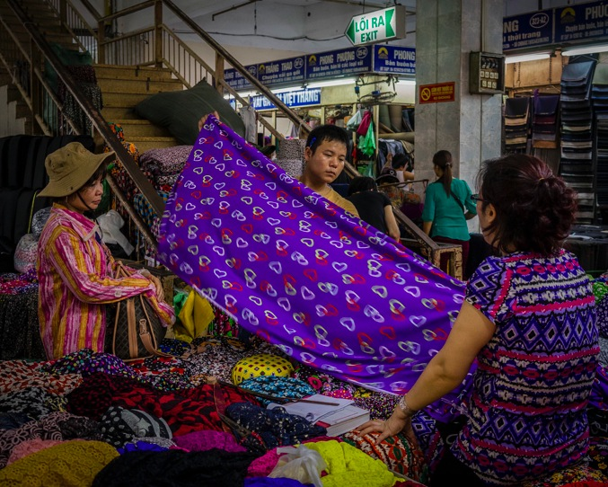 Hanoi Chợ Hôm market 2