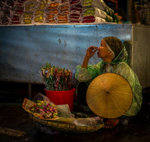Hanoi Flower Market 1