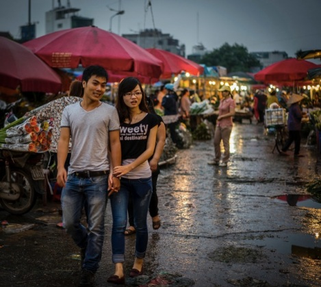 Hanoi Flower Market 10