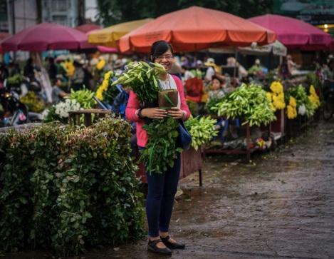 Hanoi Flower Market 11