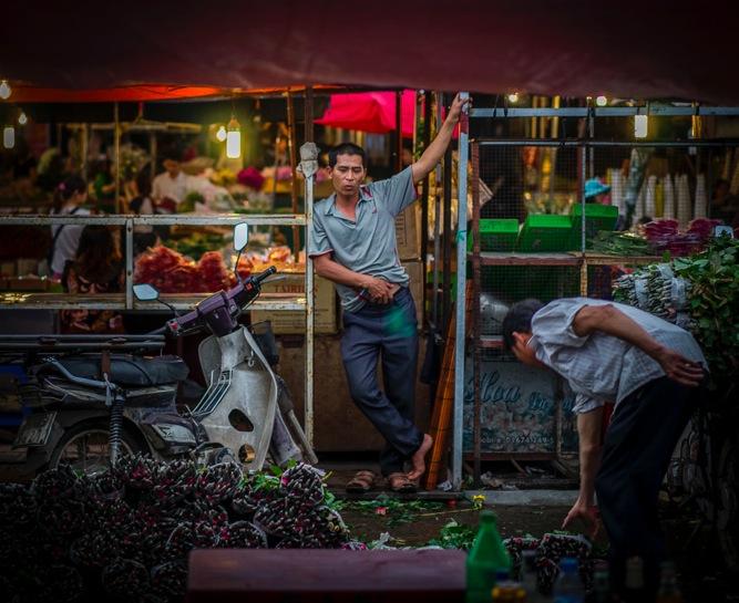 Hanoi Flower Market 13
