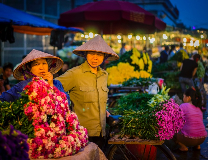 Hanoi Flower Market 5
