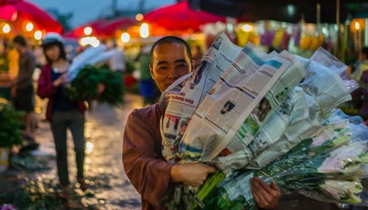 Hanoi Flower Market 6