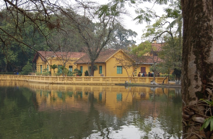 Hanoi Ho Chi Minh living quarters
