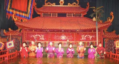 Hanoi water puppet show 5