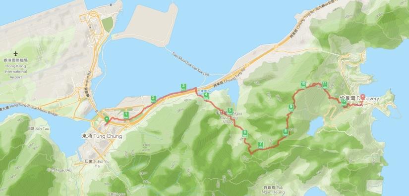 Tung Chung to Discovery Bay hike 1