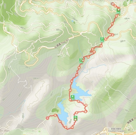 Wan Chai Gap to Aberdeen Night Hike 2