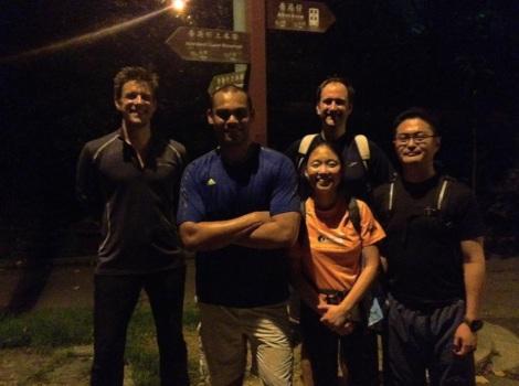 Wan Chai Gap to Aberdeen Night Hike 3
