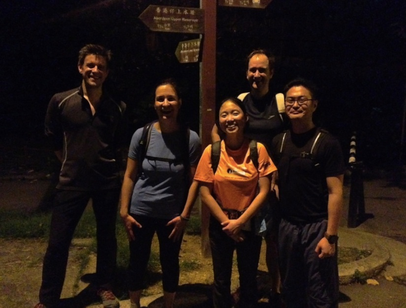 Wan Chai Gap to Aberdeen Night Hike 4