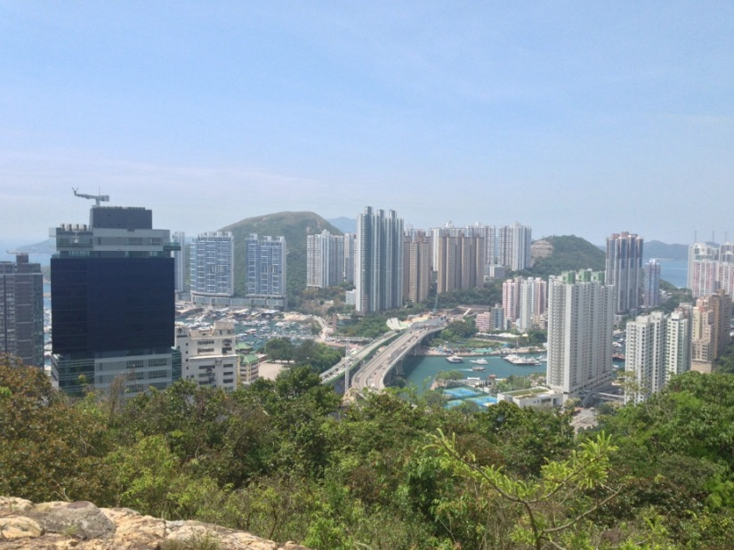 Wan Chai loop 3 View over Aberdeen