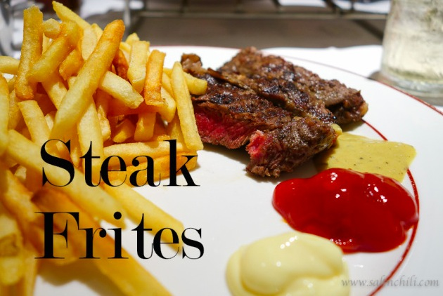 Salt Chili 1 Steak Frites