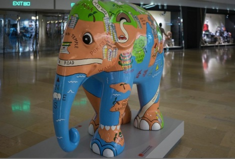Elephant Parade Aug 2014 Pacific Place Hong Kong 3