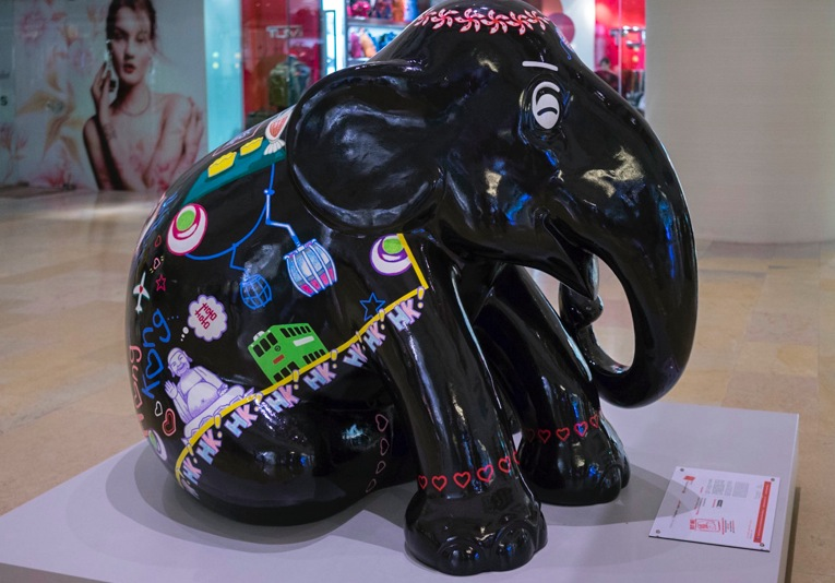 Elephant Parade Aug 2014 Pacific Place Hong Kong 7