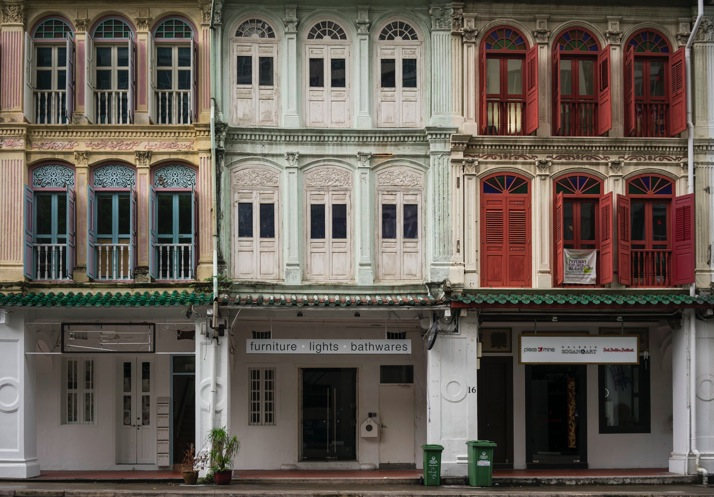 Singapore House Fronts 1