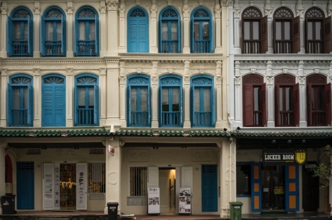 Singapore House Fronts 2