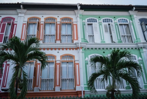 Singapore House Fronts 3