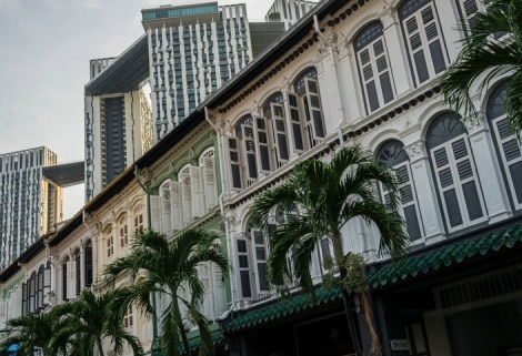 Singapore House Fronts 4