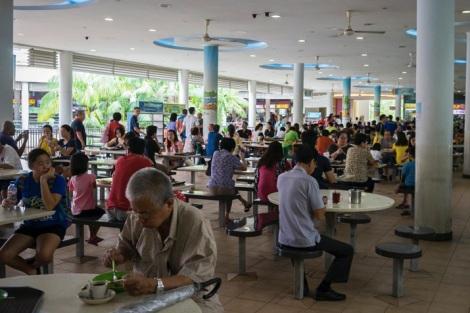 Tiong Bahru Singapore Foodcourt 1