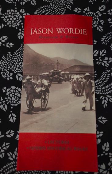 Jason Wordie flyer