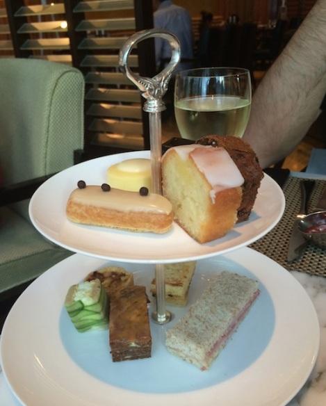 M Cafe Mandarin Oriental Hong Kong Nov 2014-6 Afternoon Tea