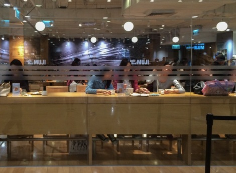 Muji Cafe Times Square 0