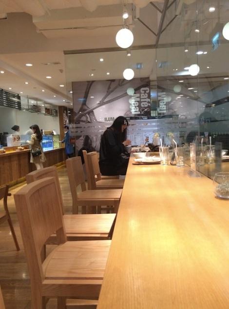 Muji Cafe Times Square 7