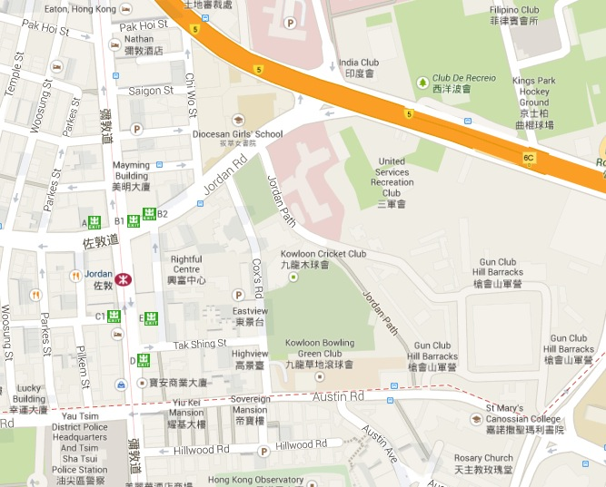 Yau Ma Tei - Map East