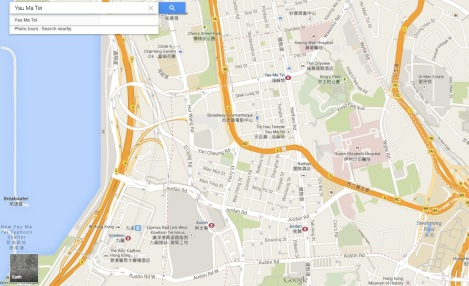 Yau Ma Tei - Map overview