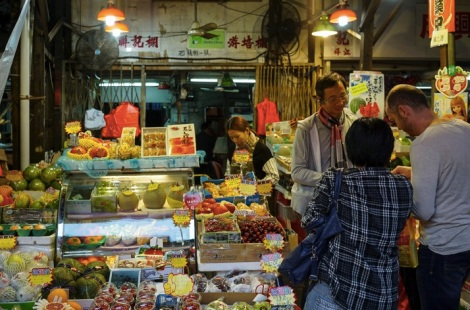 Yau Ma Teil Walk - 13 Fruit Market