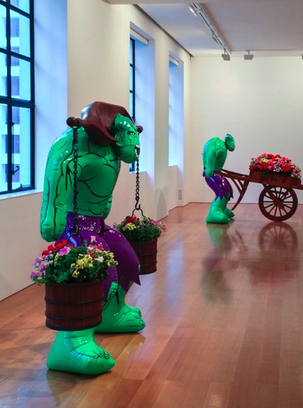 Gagosian Gallery Hong Kong Jeff Koons 1