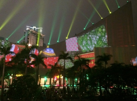 Hong Kong Pulse 3D Light Show Christmas 3
