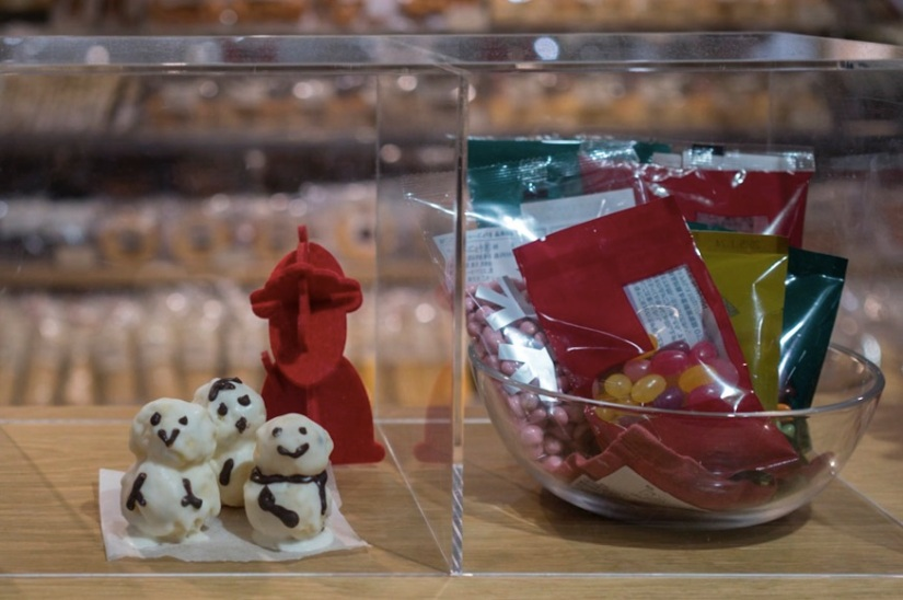 Muji Causeway Bay Food Section 6 Christmas