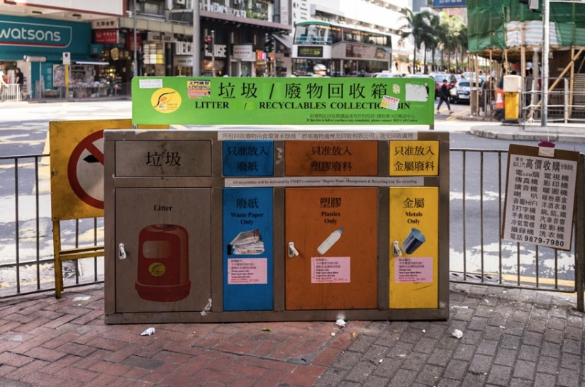 Recycling in Hong Kong