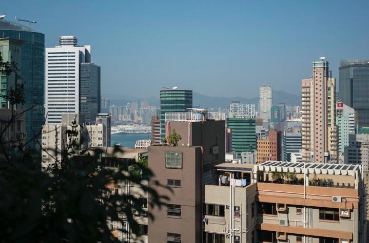 Bowen Road 6 View over Wan Chai