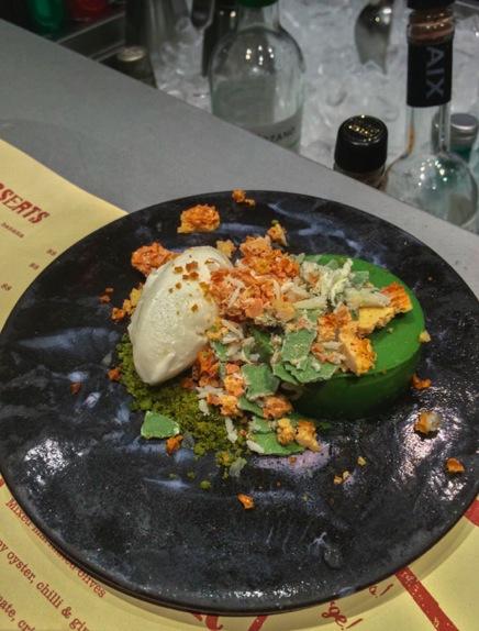 22 Ships - Green Tea Cheese Cake